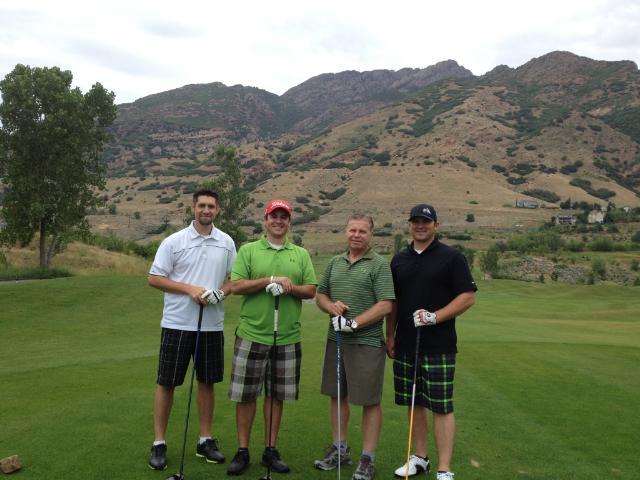 Attorneys Golfing