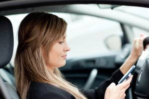 different types distracted driving