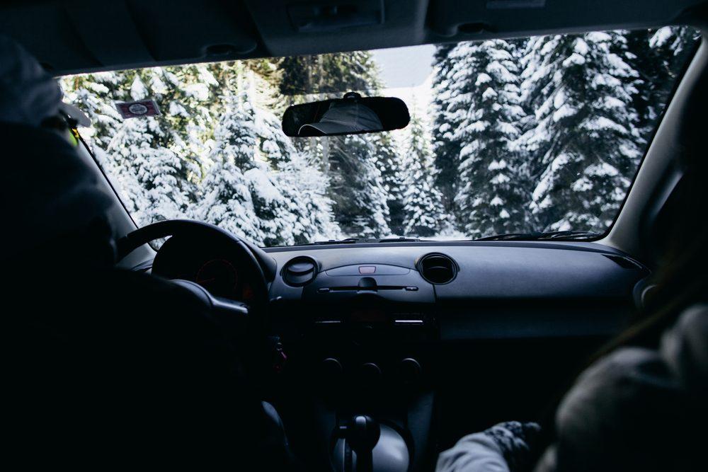 safe winter driver Utah