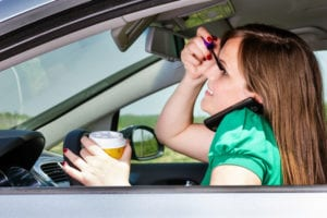 common forms distracted driving