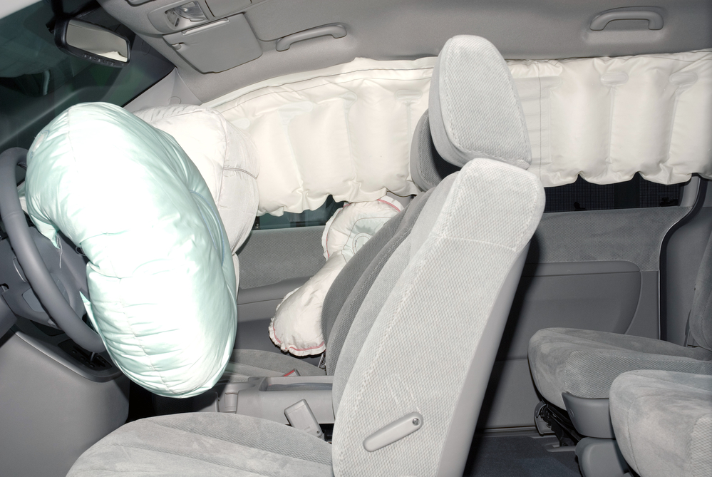injuries liability malfunctioning vehicle airbags