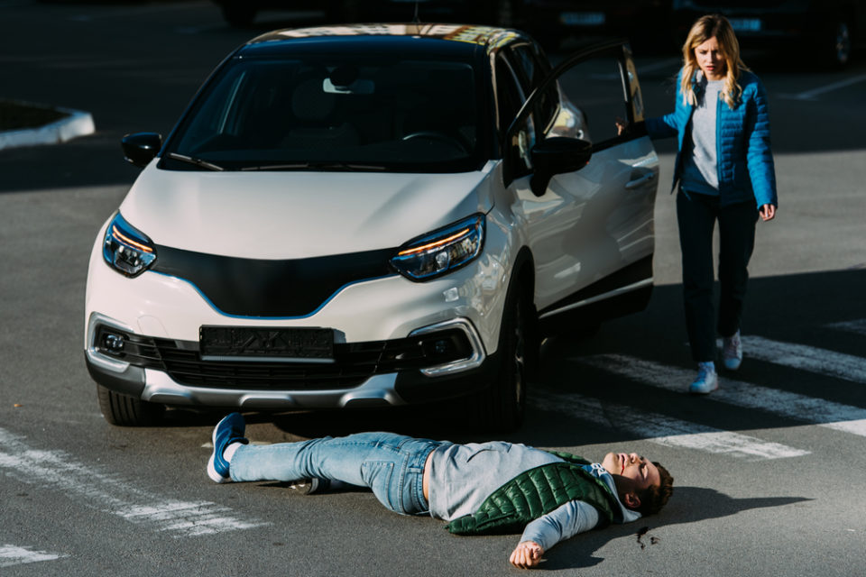 responsibility vehicle-pedestrian accidents