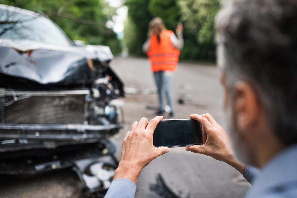 pictures document auto accident