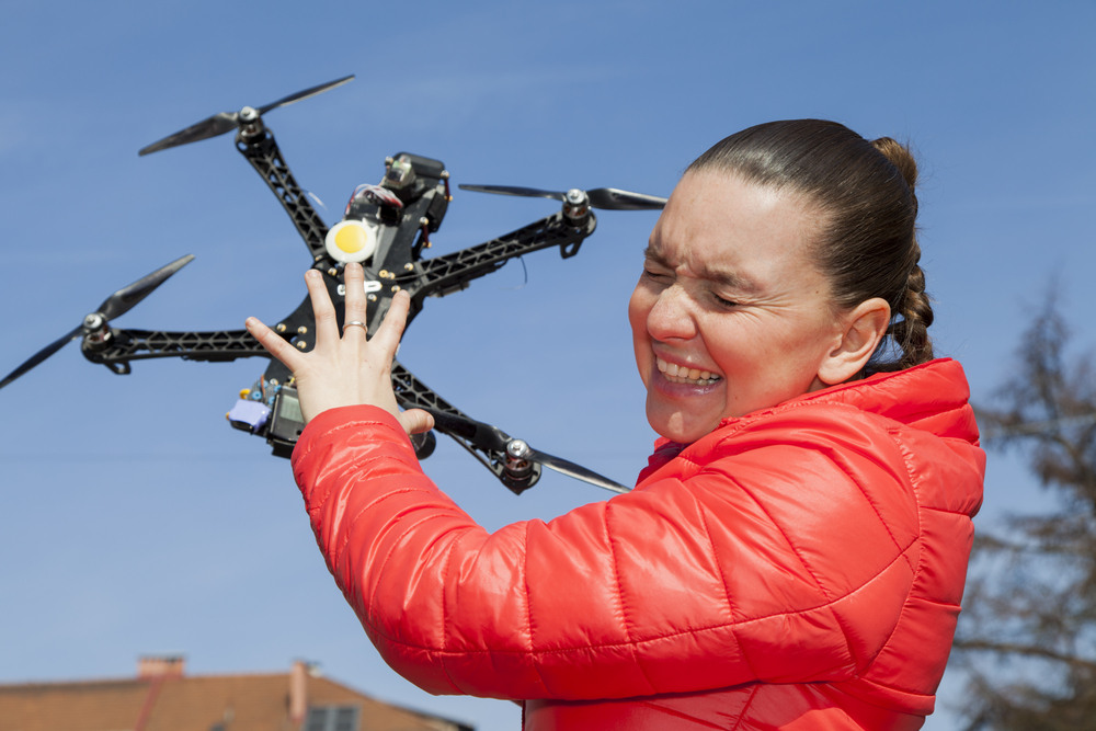 drone usage injury liability