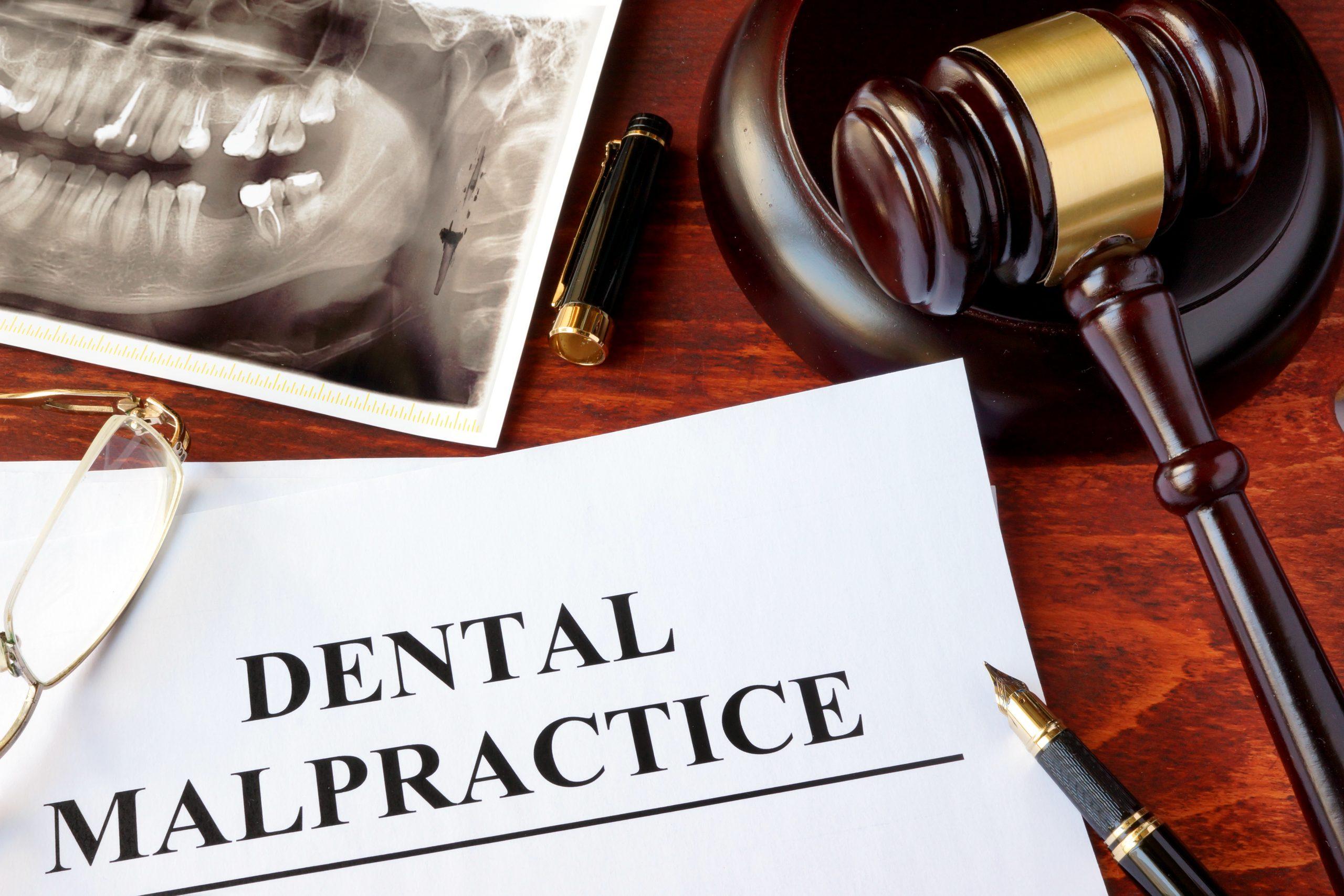 Dental Malpractice