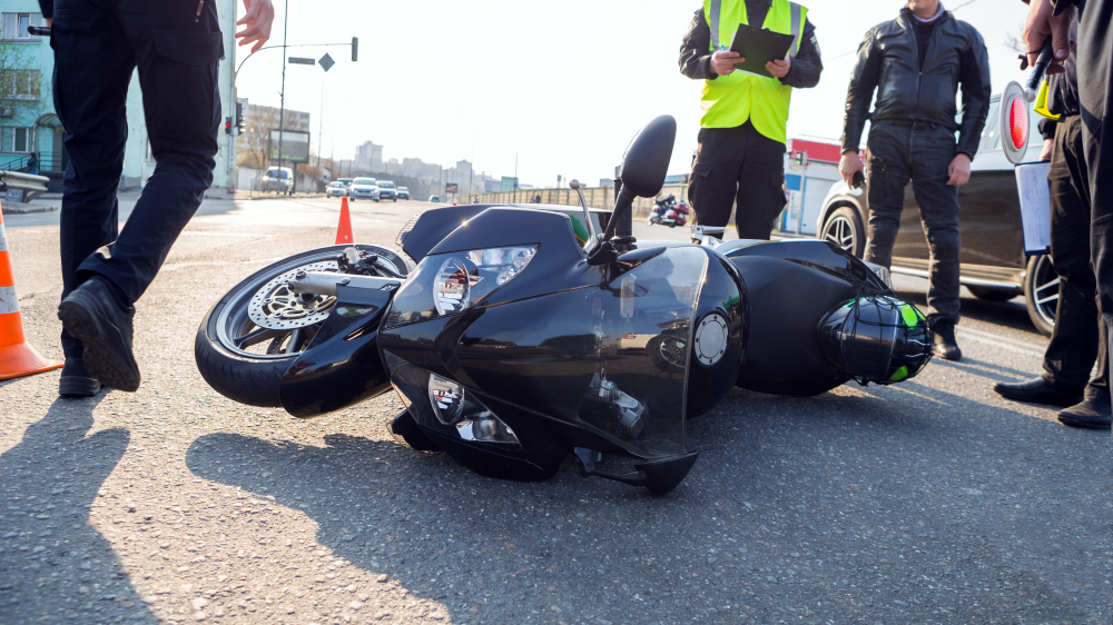Motorcycle accident attorney in Utah